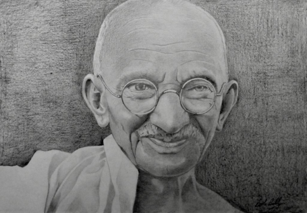 Mahatma Gandhi par ktboldy